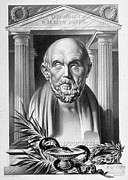 Historical Physician Prints - Hippocrates, Greek Physician, Father Print by Science Source