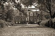 Drayton Hall Framed Prints - Historic Drayton Hall in Charleston South Carolina Framed Print by Dustin K Ryan