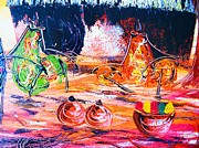 Tanzania Art - Homestead by Sedo Chongore