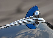 Antique Automobiles Photos - Hood Ornament  by Brian Mollenkopf