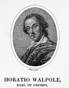 Horace Prints - Horace Walpole (1717-1797) Print by Granger