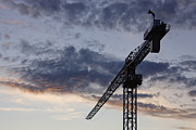 Hoist Photo Framed Prints - Industrial Crane Framed Print by Jeremy Woodhouse