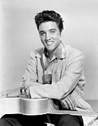 1957 Movies Photos - Jailhouse Rock, Elvis Presley, 1957 by Everett
