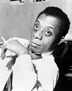 African-american Photo Framed Prints - James Baldwin (1924-1987) Framed Print by Granger