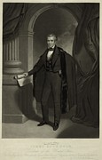 Full-length Portrait Metal Prints - James Polk 1795-1849 President Metal Print by Everett