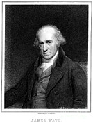 1736 Framed Prints - James Watt, Scottish Inventor Framed Print by Science Source