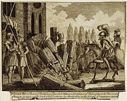 Martyr Metal Prints - JAN HUS (c1369-1415) Metal Print by Granger