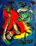 Jazz Print by Mark Kazav