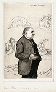 Freud Photo Framed Prints - Jean-martin Charcot, French Neurologist Framed Print by Humanities & Social Sciences Librarynew York Public Library