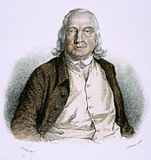 Enlightenment Prints - Jeremy Bentham (1748-1832) Print by Granger