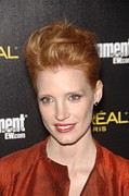 Actors Prints - Jessica Chastain At Arrivals Print by Everett