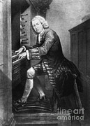 Johann Sebastian Bach, German Baroque Print by Photo Researchers
