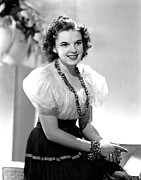 Puffed Sleeves Photos - Judy Garland, Portrait by Everett