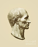 Gaul Prints - Julius Caesar, Roman General Print by Photo Researchers