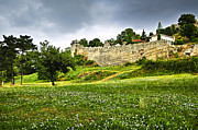 Green Walls Framed Prints - Kalemegdan fortress in Belgrade Framed Print by Elena Elisseeva