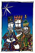 Aboriginal Art Digital Art - 3 Kings by Dan Daulby