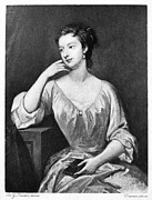 Kneller Framed Prints - Lady Mary Wortley Montagu Framed Print by Granger