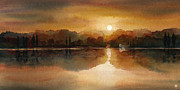 Theresa Evans - Lakeside Sunset