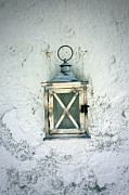 Greece Photo Prints - Lantern Print by Joana Kruse