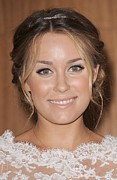 Hair Accessory Prints - Lauren Conrad At In-store Appearance Print by Everett