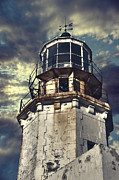 Stormy Framed Prints - Lighthouse Framed Print by Joana Kruse