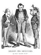 Accountant Photos - Lincoln Cartoon, 1862 by Granger