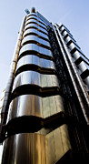 London Print Posters - Lloyds building central London  Poster by David Pyatt
