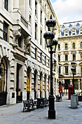 English Photo Prints - London street Print by Elena Elisseeva