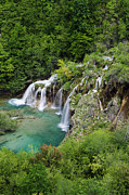 Plitvice Lakes National Park Posters - Lower Lake Plitvice Lakes National Park Poster by Jeremy Woodhouse
