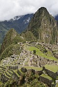 Machu Picchu Framed Prints - Machu Picchu, Peru Framed Print by Matthew Oldfield
