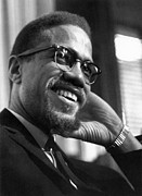 Leader Art - Malcolm X (1925-1965) by Granger