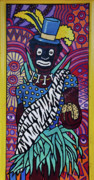 Highsmith Prints - Mardi Gras Mural Art - New Orleans Louisiana Print by Carol M Highsmith