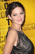 Updo Photo Posters - Marion Cotillard At Arrivals Poster by Everett