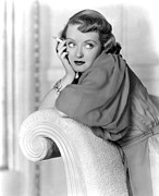 Colbw Framed Prints - Marked Woman, Bette Davis, 1937 Framed Print by Everett