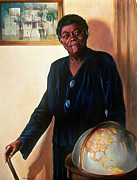 Activist Art Framed Prints - MARY McLEOD BETHUNE Framed Print by Granger