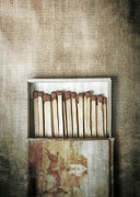 Unused Photo Prints - Matches Print by Joana Kruse