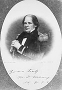 Autograph Photo Posters - Matthew Fontaine Maury Poster by Granger