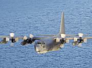 Mid-air Prints - Mc-130p Combat Shadow In Flight Print by Gert Kromhout