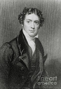 People Trained Prints - Michael Faraday, English Chemist Print by Science Source