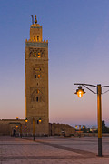 Moroccan Posters - Minaret Of The Koutoubia Mosque, Marrakesh Poster by Nico Tondini