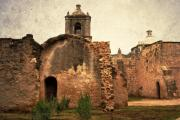 Missions Framed Prints - Mission Concepcion Framed Print by Iris Greenwell