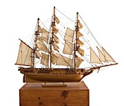 Science Fiction Sculptures - Model Ship by Louis Nanette