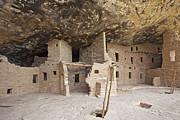 Native American Dwellings Prints - Native American Cliff Dwellings Print by Bryan Mullennix