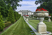 Alfred Photos - Nemours Mansion and Gardens by John Greim