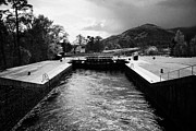 Neptune Posters - Neptunes Staircase Series Of Locks On The Caledonian Canal Near Fort William Highland Scotland Uk Poster by Joe Fox