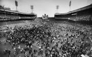 San Francisco Giants Photo Prints - New York: Polo Grounds Print by Granger
