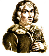 Nikolaus Kopernikus Prints - Nicolaus Copernicus, Polish Astronomer Print by Science Source
