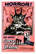 1957 Movies Prints - Night Of The Demon, Aka Curse Of The Print by Everett