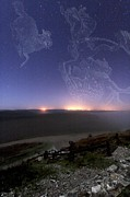 Night Sky Print by Laurent Laveder