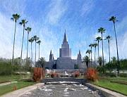 Oakland Digital Art - Oakland Temple No. 1 by Geoffrey C Lewis